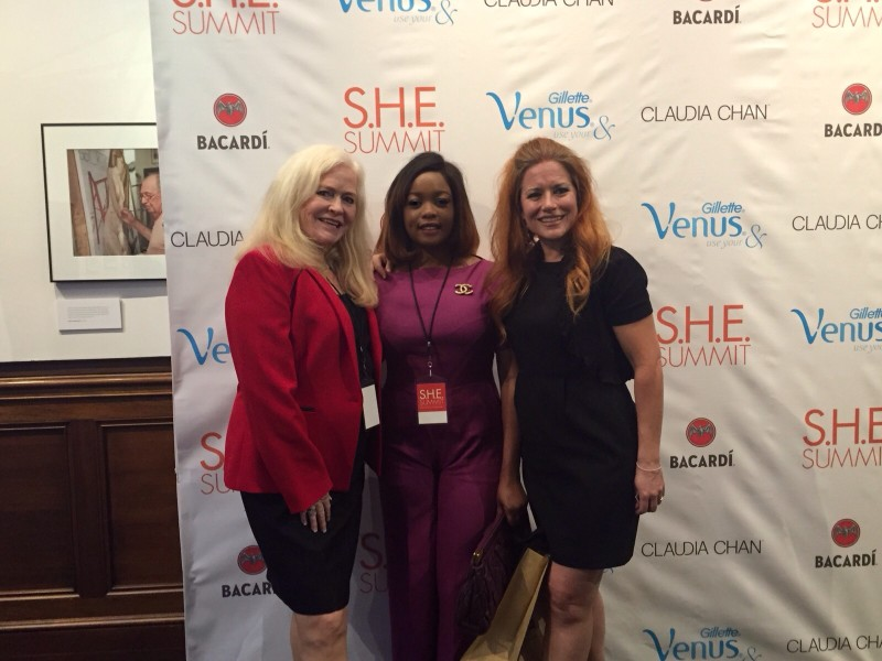 Sharon Lechter ( co-Author of think and Grow rich for women, Rich dad poor dad and Financial literacy champion in both the Bush and Obama administrations), Arese Ugwu and Ingrid Vanderveldt