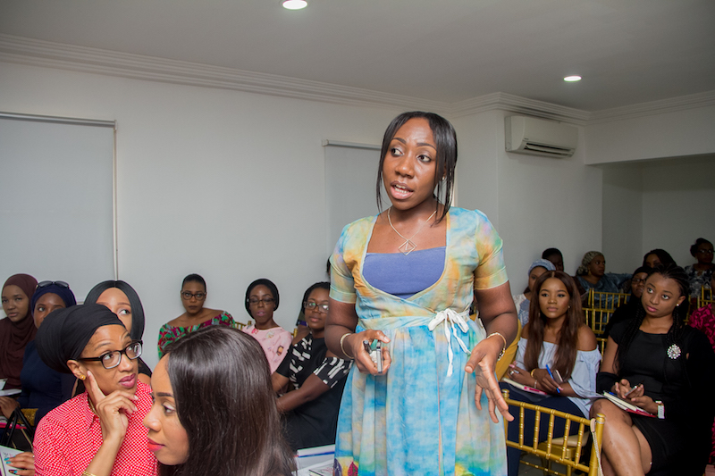The Smart Money Woman Book Tour The Showroom Abuja