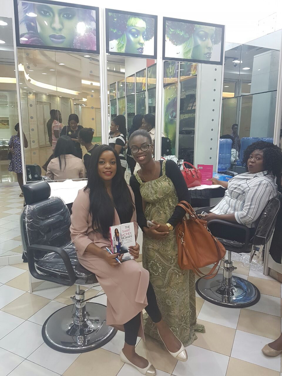The Smart Money Woman Book Tour House of Tara Abuja